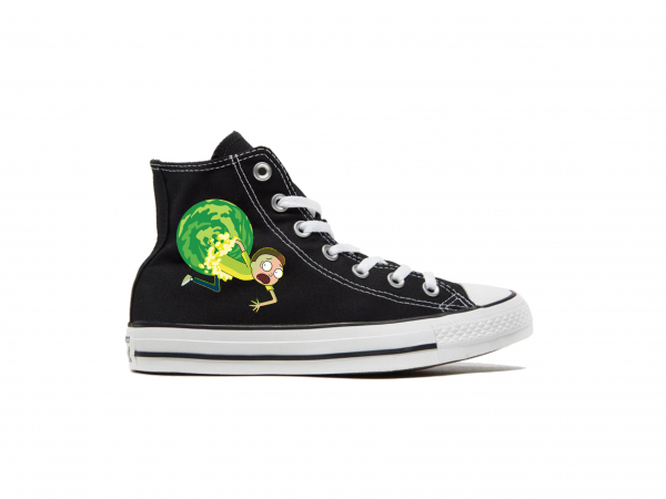 ALL STAR CONVERSE RICK MORTY